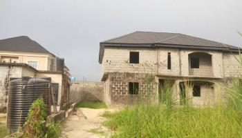 2 Units of 3 Bedrooms En Suite Carcass House, Marshy Estate, Ajah, Lagos, Block of Flats for Sale