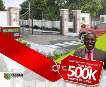 Plot of Land, in Lekki Southern Villa 2, Lekki Expressway, Lekki, Lagos, Land for Sale