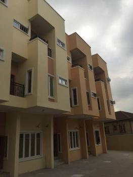 5 Bedroom Terraced Duplexes with 1 Room Bq, Adeniyi Jones, Ikeja, Lagos, Terraced Duplex for Sale