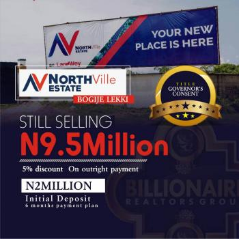 Northville Estate, Bogije. Get 5% on Outright Purchase, Selling with Govt Consent, Northville Estate, Beside The Elemoro Police Station, Bogije, Ibeju, Lagos, Mixed-use Land for Sale