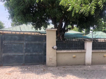 Massive 4 Bedroom Bungalow, Zone 6, Wuse, Abuja, Detached Bungalow for Sale