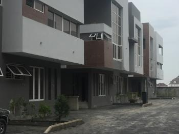 Newly Built 4 Bedroom Terraced Duplex+bq in a Mini Estate with Swimming Pool, Gym and Adequate Security, Osapa, Lekki, Lagos, Terraced Duplex for Sale