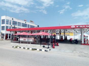 a Well Located Mega Functional Filling Station of 15 Pumps on 2,500sqm Land, in a Commercial Hub Along Lekki Express Way, Lekki Phase 1, Lekki, Lagos, Filling Station for Sale