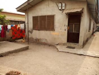 a Bungalow with 2 Bedroom & 2 Mini Flat on a Half Plot,call 09properties for Details:08142625442, Ago Palace, Isolo, Lagos, Flat for Sale