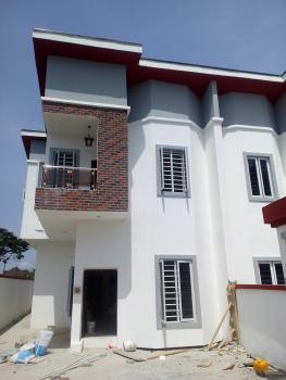 Luxury 4 Bedroom Semi-detached Duplex with Bq (24hrs Power Supply), Beside Chevron, Lekki Phase 2, Lekki, Lagos, Semi-detached Duplex for Sale
