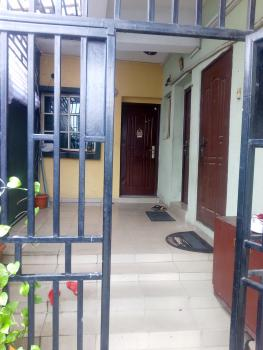 Clean 3 Bedroom with Screeded Walls, Off Eric Manuel, Bode Thomas, Surulere, Lagos, Flat for Rent