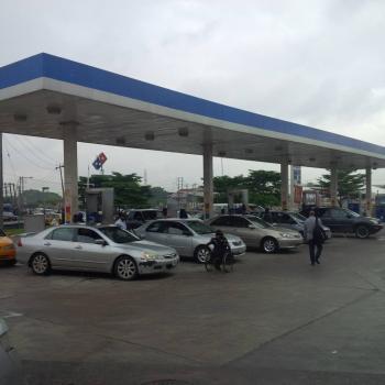 Mega Functioning Station with C of O, Gbagada Phase 1, Gbagada, Lagos, Filling Station for Sale