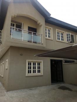 4 Bedroom Semi Detached Duplex with Bq, Beside Lagos Business School  (jubrin Estate), Canaan Estate, Ajah, Lagos, Semi-detached Duplex for Rent
