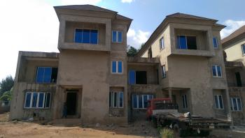 8 Units of Partially Completed 4 Bedroom Terrace Duplex with One Bq Each Plus 3 Units of 2 Bedroom Flats, Katampe Extension, Katampe, Abuja, Terraced Duplex for Sale