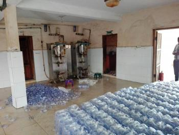 Functional Pure Water Factory, Car Wash, Egbeda, Alimosho, Lagos, Factory for Sale