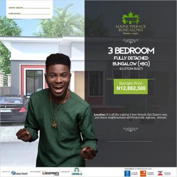 3 Bedroom Spacious Apartment, Ivy Edge Estate, Ibeju Lekki, Lagos, Flat for Sale