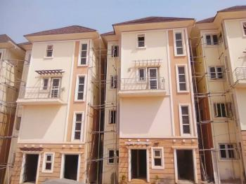 Fresh 4 Bedroom Maisonette, 1 Living Room with a Guest Toilet, Kitchen and a Guest Room, Galadimawa, Abuja, Terraced Duplex for Sale