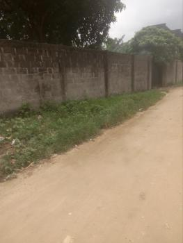 5 Plots of Land Well Fenced with Gate, Farm Road 2, Eliozu, Port Harcourt, Rivers, Residential Land for Sale