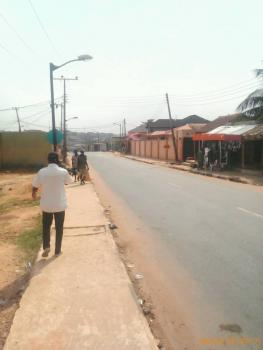 Half Plot of Land, New Giwa Road, Close to The Bus Stop and The New Bridge at Aboru Iyana Ipaja, Oke-odo, Lagos, Residential Land for Sale