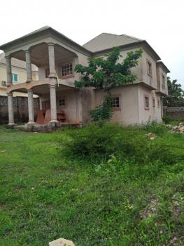 Fully Detached 4 Bedroom Duplex with Servant Quarters (carcass), Ald Estate  Near Mab Global Estate, Gwarinpa Estate, Gwarinpa, Abuja, Detached Duplex for Sale