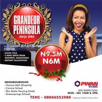 Grandeur Peninsula (promo Price Review) Promo Extended, Abijo, Gra, Abijo, Lekki, Lagos, Mixed-use Land for Sale