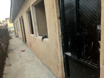 Newly Built Single Room Self  with 1 Toilet & Bath, Akoka, Yaba, Lagos, Self Contained (single Room) for Rent