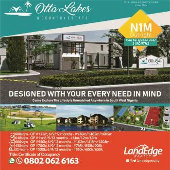 Otta Lakes and Country Estate, Sango Ota, Ogun, Mixed-use Land for Sale