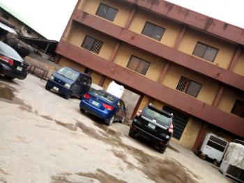 Solidly Built for Commercial Purposes on 3 Floors with Large Expense of Land, Eric Moore, Surulere, Lagos, Office Space for Sale
