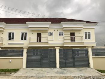 Newly Built Four Bedroom Terrace House with Bq, Ikota Villa Estate, Lekki, Lagos, Terraced Duplex for Rent