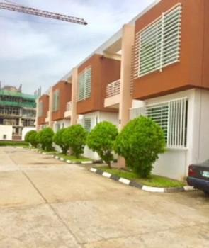 Fully Serviced 4 Bedrooms Terrace with Swimming Pool and 1 Room Bq, Off Eko Street, Parkview, Ikoyi, Lagos, Terraced Duplex for Rent