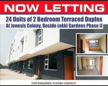 2 Bedroom Terraced Duplex and 2 Bedroom Pent Flat, Opposite Abraham Adesanya Estate, Lekki Expressway, Lekki, Lagos, Terraced Duplex for Rent