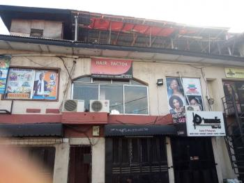 100sqm Open Plan Space with 2 Rooms Office Space: Good for Church Use, Laundry Service Etc, Ada Plaza, Adeniran Ogunsanya, Surulere, Lagos, Plaza / Complex / Mall for Rent