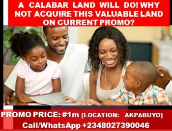 Estate Lands, Akpabuyo Community, (near The Nigerian Navy Quaters and Eastern Naval Command), Calabar, Cross River, Residential Land for Sale