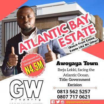 Beach Front Estate, Awoyaya, Ibeju Lekki, Lagos, Residential Land for Sale