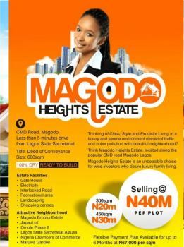 Magodo Heights Estate, Cmd Road, Less Than 5 Minutes Drive  From Lagos State Secretariat, Ikeja, Lagos, Residential Land for Sale