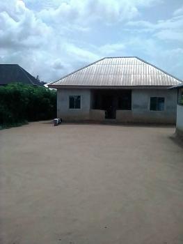 Distress 4 Bedroom Bungalow on 1 Plot, Iguruta, Port Harcourt, Rivers, Detached Bungalow for Sale