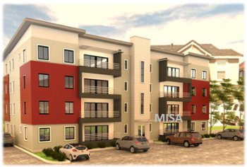 3 Bedroom Flat, Bayview Estate, 4th Roundabout, Ikate Elegushi, Lekki, Lagos, Block of Flats for Sale