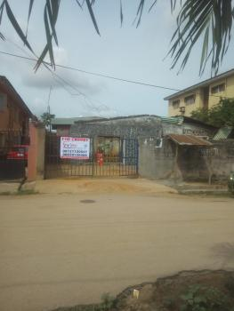 a Detached Tenement Bungalow with a Warehouse at Rear, Oshobu Street, Opposite Eleere Post, Agege, Lagos, Detached Bungalow for Rent