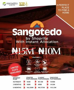 Land, Behind Shoprite, Sangotedo, Ajah, Lagos, Residential Land for Sale
