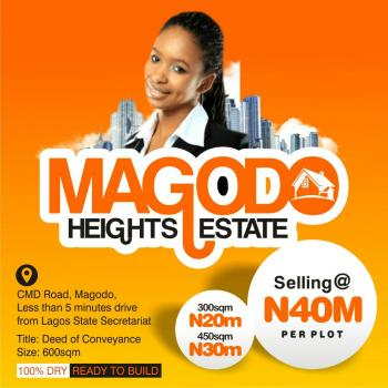 Land, Magodo Height Estate, Cms Road, Magodo, Less Than 5 Minutes Drive From Lagos State Secetariat, Magodo, Lagos, Residential Land for Sale