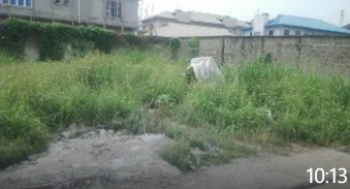 Partly Fenced 400sqm Dry Land, Brooks Estate, Magodo, Lagos, Residential Land for Sale