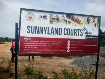 Sunnyland Courts with C of O (euc Homes), Osoroko Town, Along Lekki Free Trade Zone, Ibeju Lekki, Lagos, Mixed-use Land for Sale