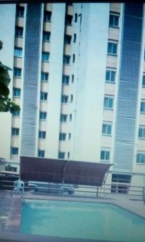 2 Bedroom Flat (serviced) with B Q, Eric Moore Heights / Tower, Bode Thomas, Surulere, Lagos, Flat for Sale