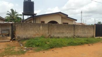 3 Bedroom Bungalow on a Full Plot of Land Corner Piece with 2 Gate, Agbado, Oke-odo, Lagos, Flat for Sale