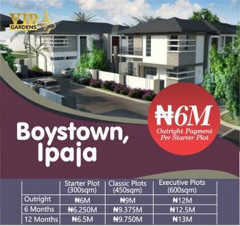 Estate Land, Boys Town, Ipaja, Lagos, Residential Land for Sale