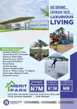Own Estate Land Along Free Trade Zone Road with 10% Deposit!!!, Along Lekki Free Trade Zone, Iberekodo, Ibeju Lekki, Lagos, Residential Land for Sale