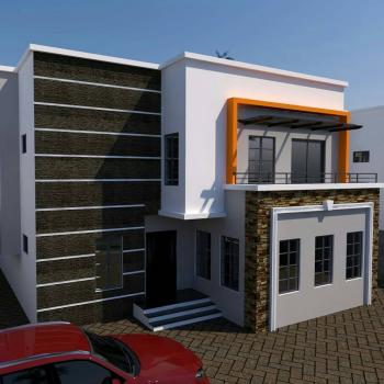 5 Bedrooms with Bq, Orange Estate, Just After Shoprite Behind Copa Cabana, Apo, Abuja, Detached Duplex for Sale