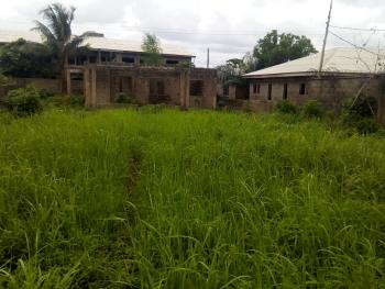 5 Bedroom Duplex Uncompleted Setback on 1 and Half Plot of Land, Fenced Gate, Water, Ikola Command, Ipaja, Lagos, Flat for Sale