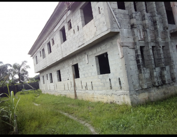 2 Wings Duplex (uncompleted), By Nnpc Opposite Farra Park Estate, Idi Agbon, Awoyaya, Ibeju Lekki, Lagos, Detached Duplex for Sale