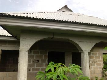 Newly Roofed Uncompleted 3 Bedroom Bungalow on Full Plot of Land, Behind Fasola Estate, Agbowa, Ikorodu, Lagos, Detached Bungalow for Sale