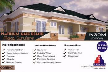 Platinium  Gate Estate Surulere, Alaska Surulere, Alaka, Surulere, Lagos, Land for Sale