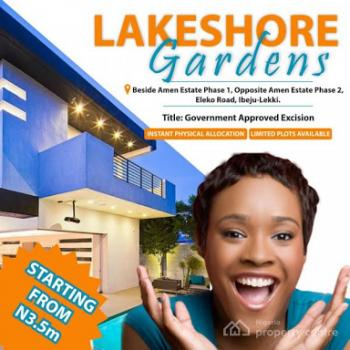 Lakeshore Gardens, Eleko Junction, Amen Estate Road, Eleko, Ibeju Lekki, Lagos, Residential Land for Sale