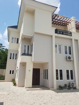 Top Notch What Class 5 Bedroom Duplex with Study, Coza Church, Guzape District, Abuja, Terraced Duplex for Sale