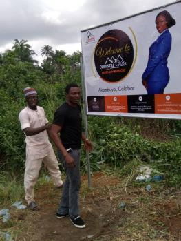 Registered Survey and C of O in Process, Akpabuyo, 3 Mins From The Naval Residential Quarters., Calabar, Cross River, Mixed-use Land for Sale