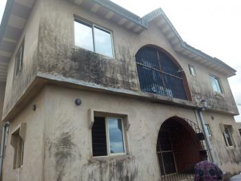 Fine 4 Nos of 3 Bedroom All Tiles Floor Fenced Gate Water on a Full Plot of Land, Akesan, Igando, Ikotun, Lagos, House for Sale